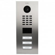 DoorBird IP Video Türstation D2103V, Edelstahl V2A