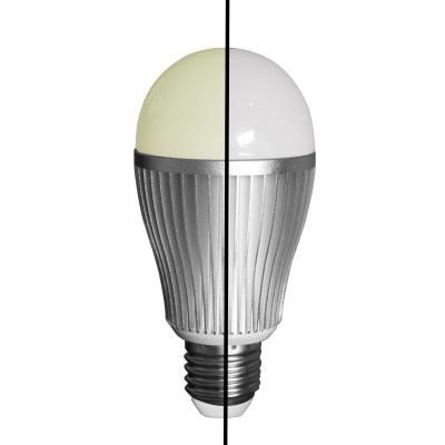 LED Lampe Dual White 9W, E27, WW/CW