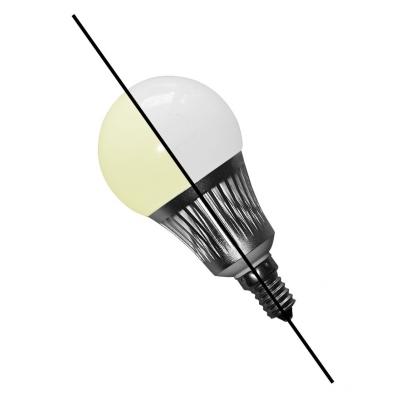 LED Lampe Dual White 5W, E14, WW/CW