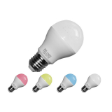 LED Lampe 6W, E27, RGB+WW