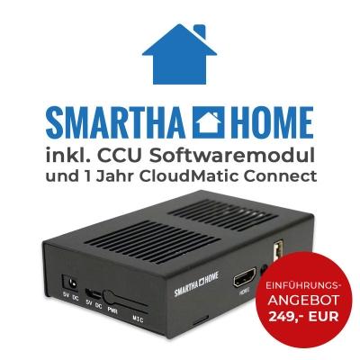 Smartha Home Zentrale inkl. CCU-Softwaremodul