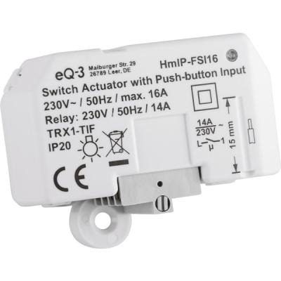 Schaltaktor mit Tastereingang (16A) - Unterputz HmIP-FSI16